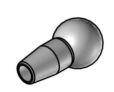 kruhová tryska průměr 3,4 mm