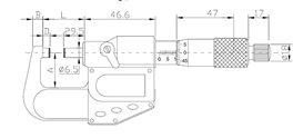 MIKROMETR IP65