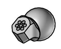 SDK-9,5_60 - spec. 6ti tryska 60° krátká