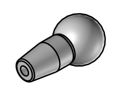 kruhová tryska průměr 2,0 mm