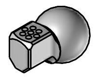 SDK-9,5_90 - spec. 6ti tryska 90° krátká