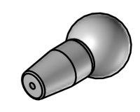RD-9,5-1 - kruhová tryska průměr 1,0 mm